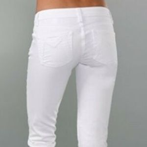 Marc by Marc Jacobs Sz 27 jeans low rise white